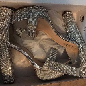 Size 10 Rhinestone Woman's Heels